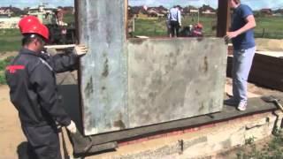 видео Дома из стеновых блоков