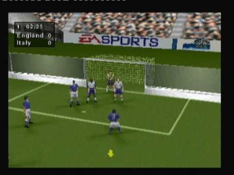 Retrop Fifa 98 Indoor Stadium Youtube