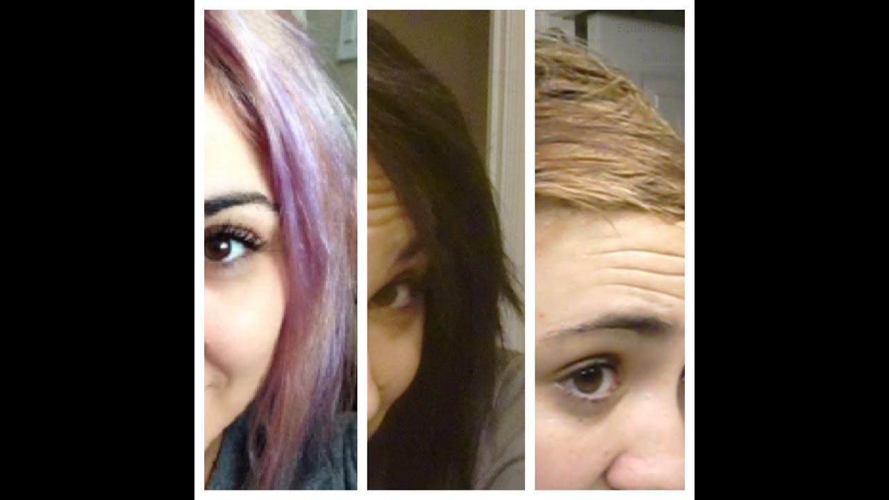 Colorfix Removing Black Dye From Bleached Hair Youtube