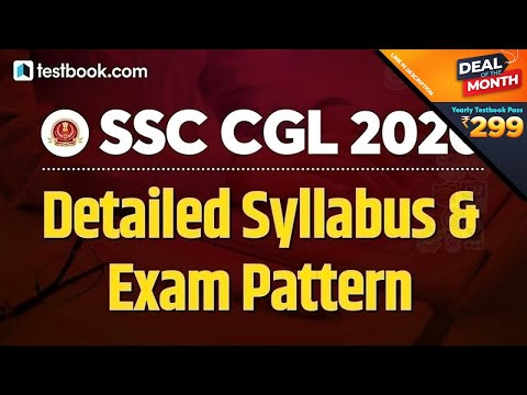 SSC CGL Syllabus and Exam Pattern 2020-21 | Detailed Discussion Topic Wise in Hind (UPDATED)