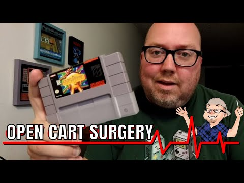 Open Cart Surgery - Earthbound for SNES