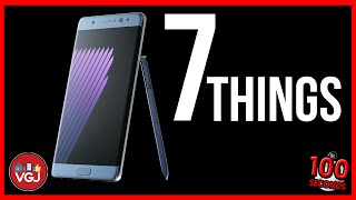 Samsung Galaxy Note 7 - 7 Things You Need to Know in 100 Seconds!