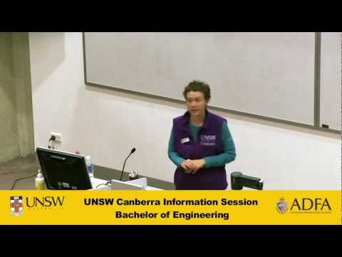 Bachelor of Engineering - UNSW Canberra