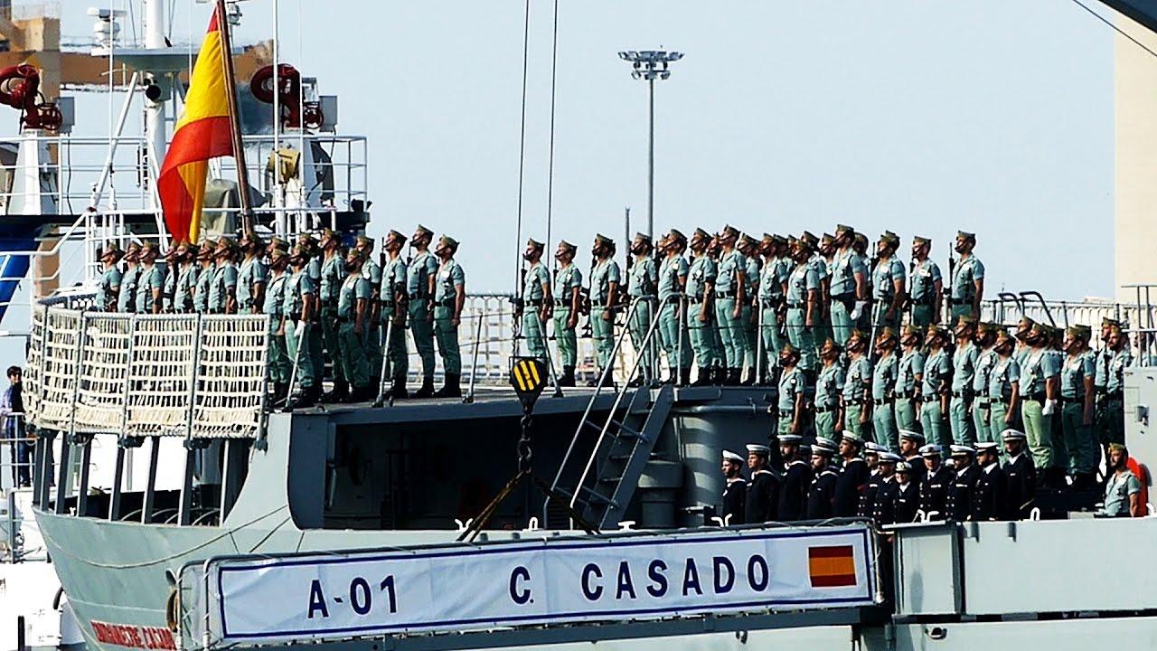 Desembarco Legionarios En Málaga 2017 Mejores Imágenes Youtube