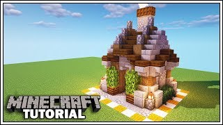 Minecraft 8x8 Medieval Blacksmith [How to Build] YouTube