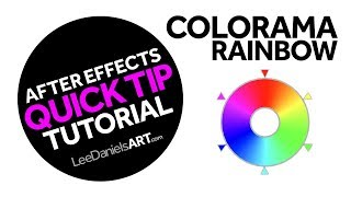 After Effects Tutorial | QUICK TIP | Colorama Rainbow