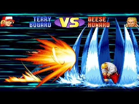 [TAS] Terry VS Geese | KOF 98 Aniversary Edition | Super Battle 💀