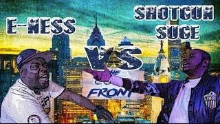 KLBL - Rap Battle - E-Ness vs Shotgun Suge
