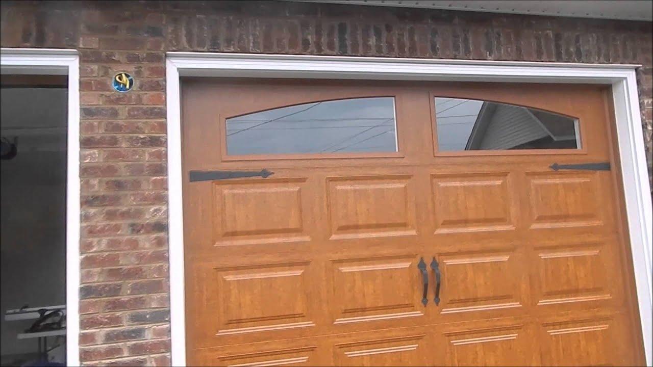 Garage Build Part 6: Soffit, Fascia, Exterior Lights, Man Door   YouTube