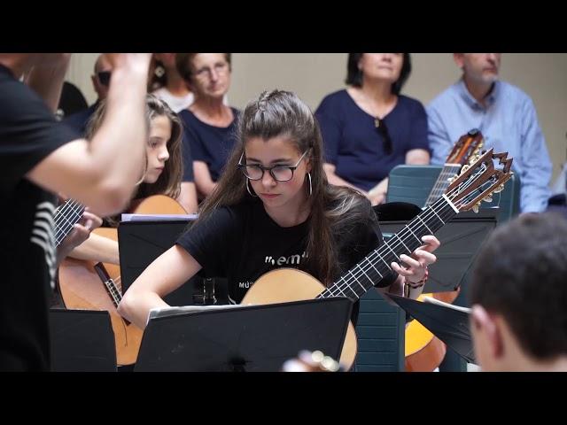Cápsulas VEM 2019 Orquesta de Guitarras del Conservatorio de Villena