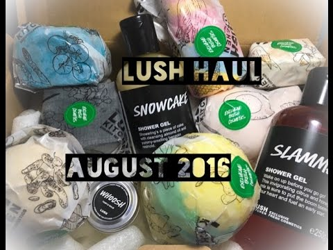 Lush UK Kitchen Haul - YouTube