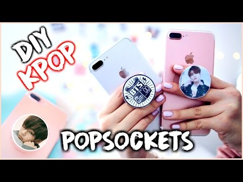 DIY K-POP POPSOCKETS |OnlyKelly