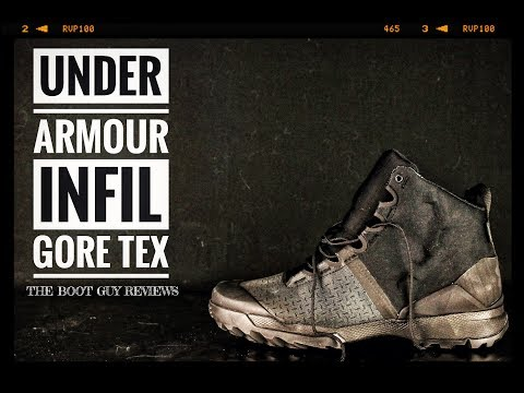 66e11414c0f UNDER ARMOUR INFIL Gore-Tex [ The Boot Guy Reviews ]
