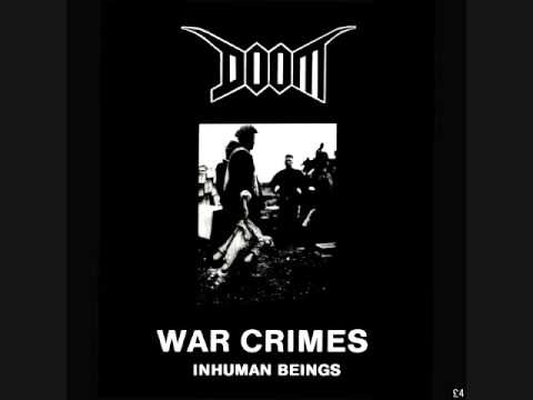 Doom - War Crimes-Inhuman Beings LP