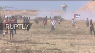 State of Palestine: Violence at Gaza protests marking 71 years since Al-Nakba