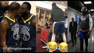 Draymond Green & Kevin Durant FIGHT In ...