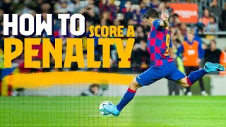 HOW TO... Score a penalty (Barça penalty compilation)