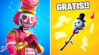 🎁Todas las *RECOMPENSAS* de Navidad!!🎄 Parche 11.30 Fortnite: battle royale