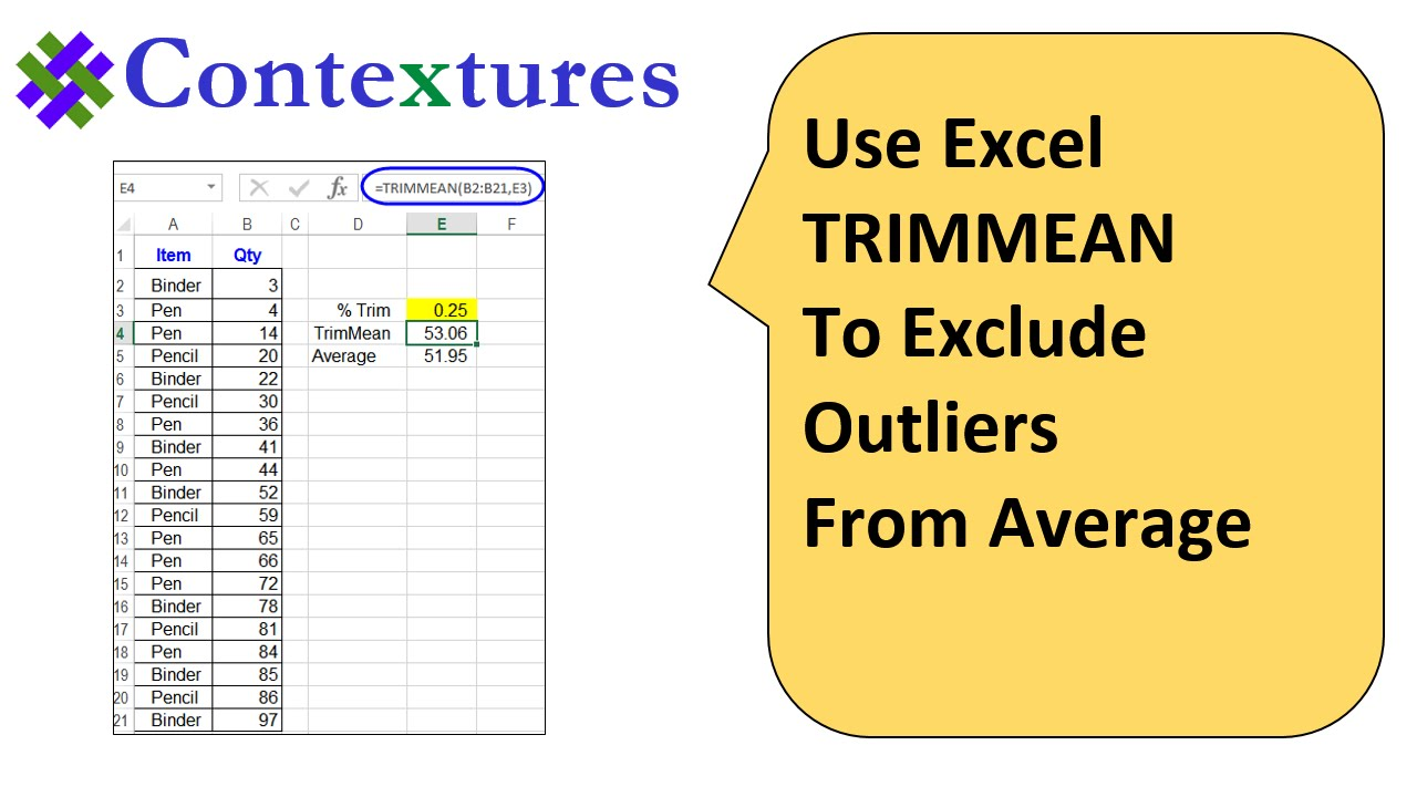 How to Get Average in Excel