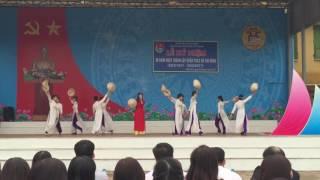 Hát-múa :Xinh tươi việt nam -12a2 thpt xuân mai