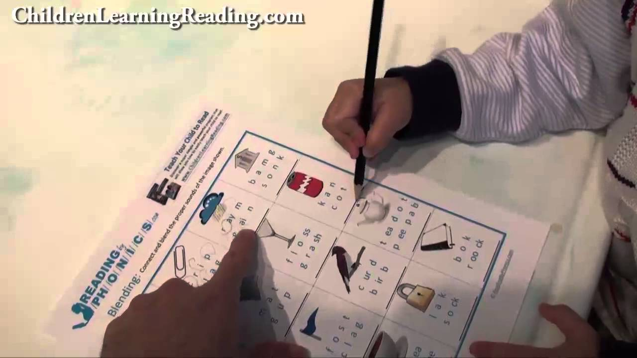 Developing Phonemic Awareness With Blending Activities and Worksheets [ 720 x 1280 Pixel ]