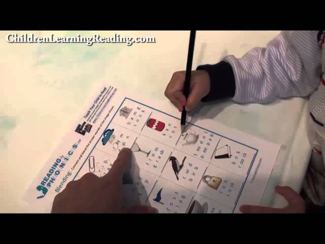 Developing Phonemic Awareness With Blending Activities and Worksheets