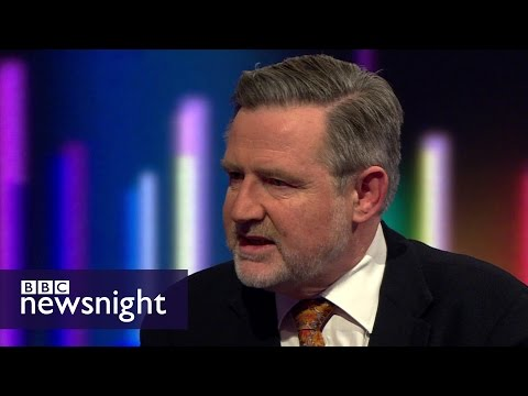 Barry Gardiner on Labour's general election manifesto - BBC Newsnight