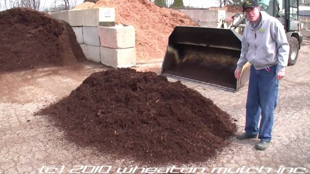 Wheaton Mulch Inc Dumping Two Yards Of Video Overview