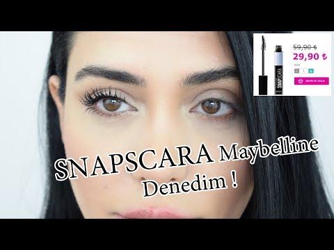 Yeni Snapscara Maybelline /// Denedim !