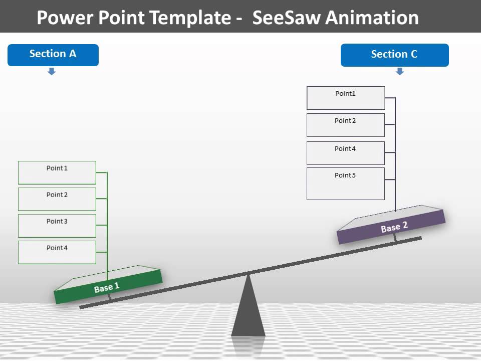 Seesaw model ms powerpoint template youtube seesaw model ms powerpoint template toneelgroepblik Images