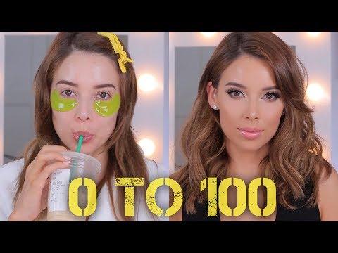 0 TO 100: GRWM HAIR AND MAKEUP | LUSTRELUX thumbnail