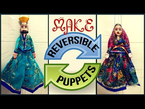 How To Make A Puppet | Handmade Wooden Puppets | Puppet Making