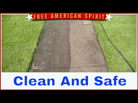 Soft Wash House & Pressure Wash Side Walks in Canandaigua NYLeGrand and CompanyPressure Washing