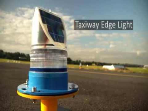 Avlite's Solar Helipad Lighting System has landed