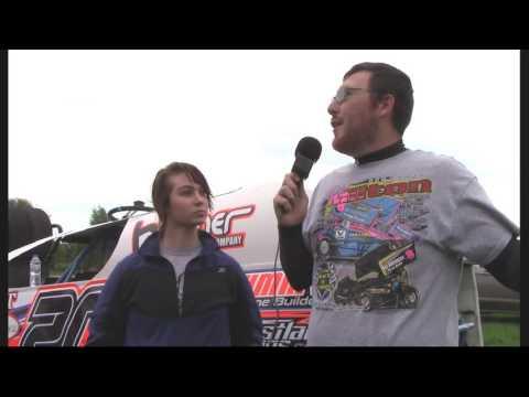Sabreena Ekstrom Farmer City Raceway Interview