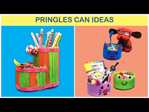 Things You Can Make From Pringles Cans | Ideas with Pringles Cans | 365 Life Hacks