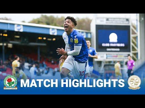 Blackburn Reading Goals And Highlights