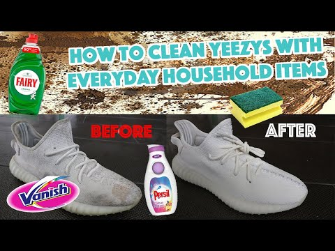 How To Clean Yeezys With Everyday Household Items