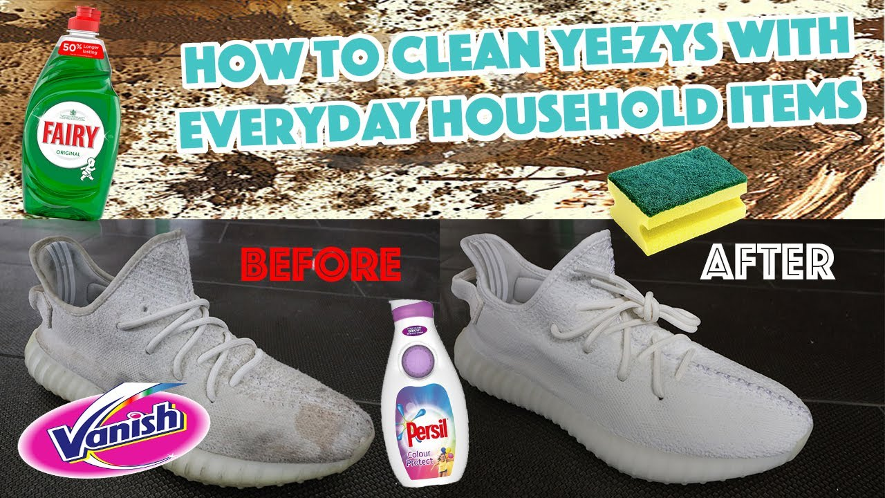 How To Clean Yeezys With Everyday