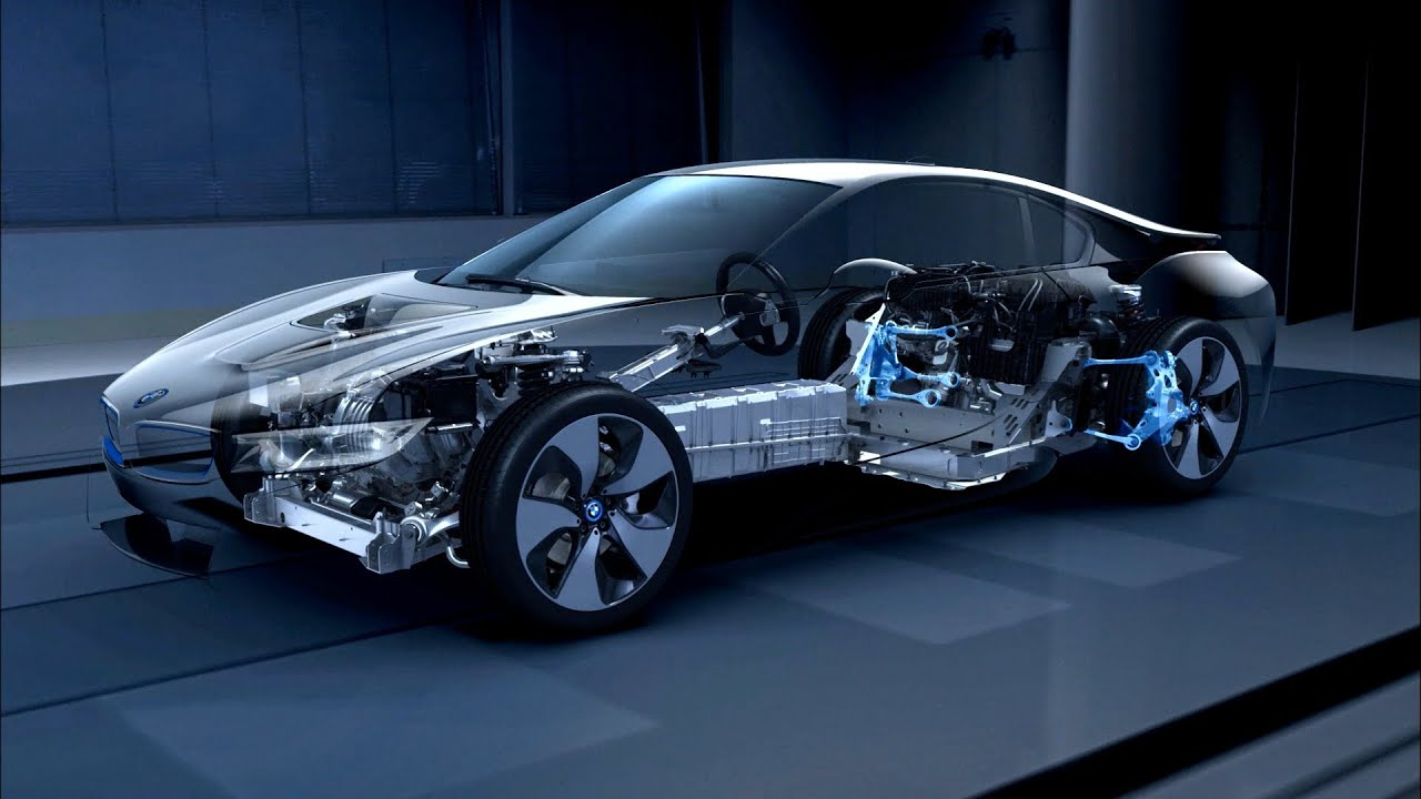 BMW Efficient Dynamics lightweight design 2014 - YouTube