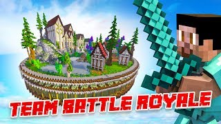 *NEW* TEAM BATTLE ROYALE! - Minecraft SKYBLOCK #8 (Season 3)