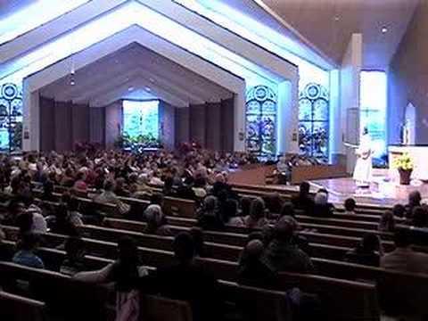 Part 1 Homily at St Joseph Parish Avon Lake 04-13-08