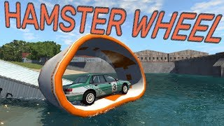 HAMSTER WHEEL! - BeamNG.drive