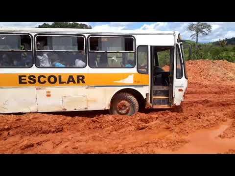 Olha a situação das estradas de São Félix