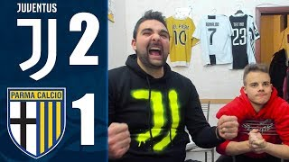 FUGA! JUVENTUS 2-1 PARMA | REACTION LIVE w/ENRY & OHM