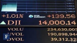 Dow Jones Breaks 14,000