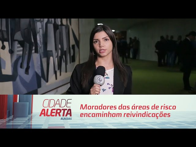 Moradores das áreas de risco encaminham reivindicações para  Bolsonaro
