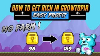 Growtopia How To Get Rich Easy Profit 2020 ! | FBSR #2 | Growtopia 2020
