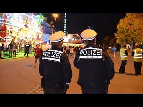 Mit der Polizei auf Wasen-Streife in Stuttgart