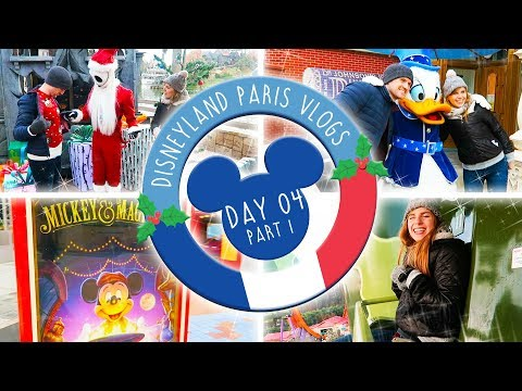DISNEYLAND PARIS VLOGS | DAY 4 PART 1 - TWO PARKS, ONE DAY